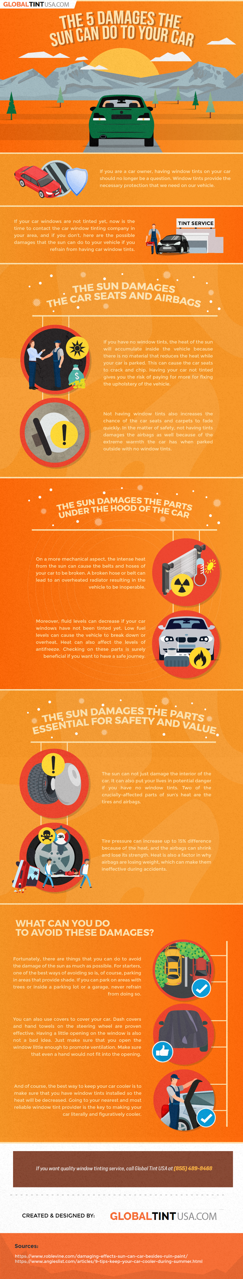 The 5 damages the sun can do to your car 01