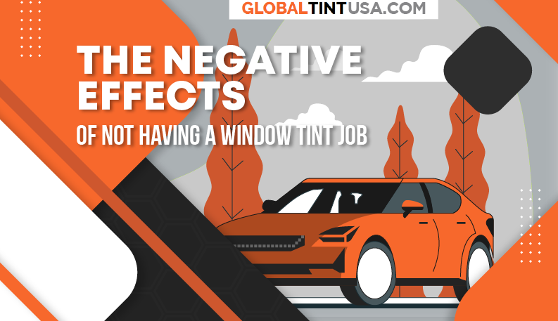 The negative effects of not having a window tint job featured image